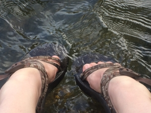 Dipping my toes in the water